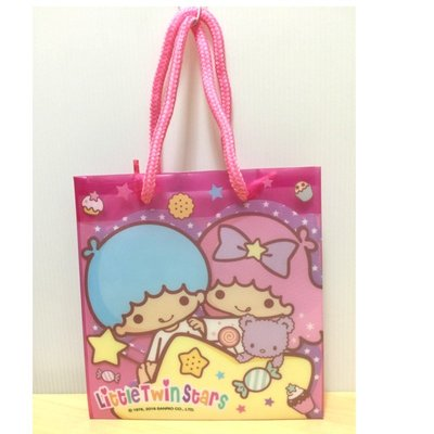 正版雙子星kiki&lala 手提袋 包裝袋 禮物袋