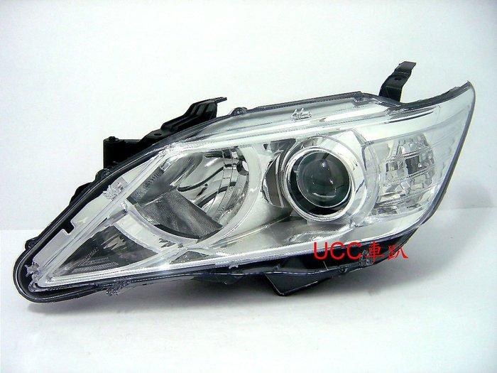 【UCC車趴】TOYOTA 豐田 CAMRY 12 13 14 原廠型 HID版 魚眼大燈 (TYC製) 一組6000