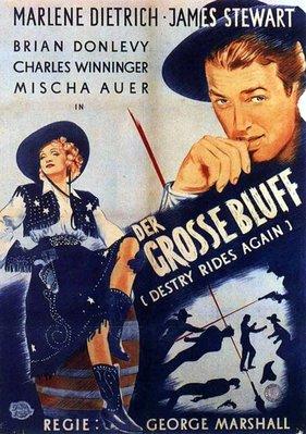 【藍光電影】碧血煙花 Destry Rides Again(1939)豆瓣評分7.6