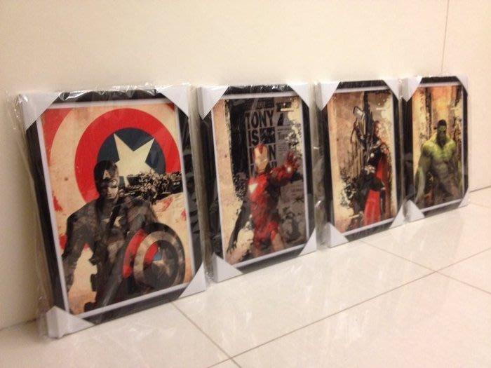 ART。DECO  MARVEL 復仇者聯盟 漫威 電影 英雄系列掛畫