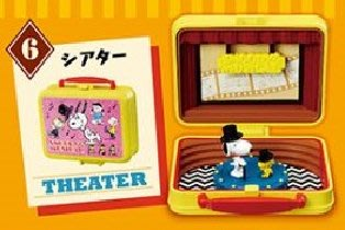 Re-Ment Peanuts Snoopy & Woodstock Little Lunch Box Museum 史路比 # 6 Theater