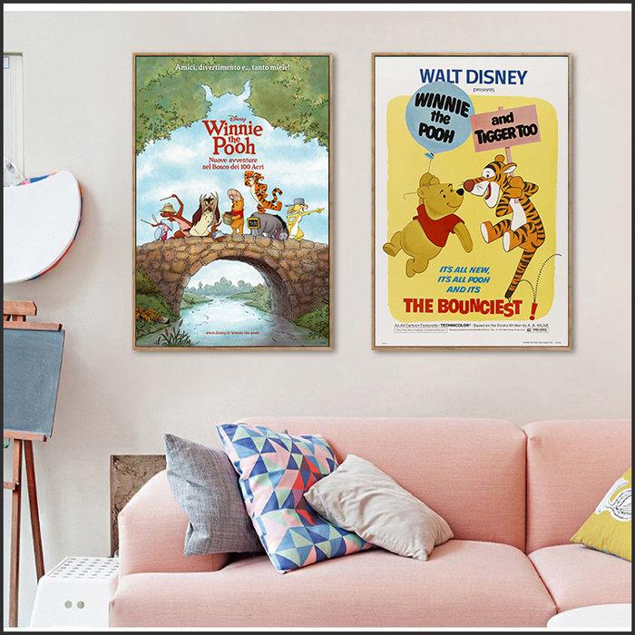 小熊維尼 維尼 Winnie the Pooh 海報 電影海報 藝術微噴 掛畫 嵌框畫 @Movie PoP 多款海報~