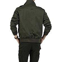 【夏日限時優惠 全館免運】夾克外套 夾克男士軍裝立領短款 誘貨