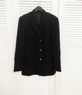 GIEVES & HAWKES super 150 黑色單排三釦西裝上衣