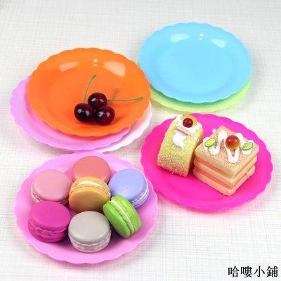收納 特價小物 6個裝花邊小號餐盤吐骨碟垃圾盤骨碟骨盤水果盤零食堅果碟擺盤單筆訂購滿200出貨唷