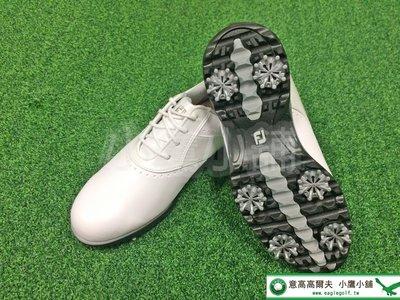 [小鷹小舖] FootJoy FJ eMerge™ 93913 高爾夫 球鞋 有釘 柔軟合成材質鞋面 泡沫鞋墊 舒適