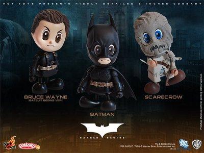 金錢貓雜貨~全新 Hot Toys Cosbaby Batman Scarecrow 蝙蝠俠 稻草人