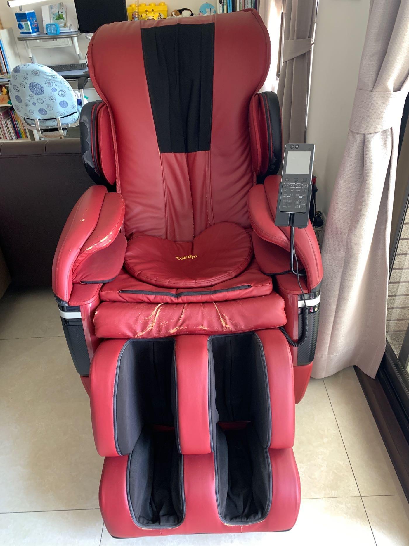 二手商品~TOKUYO TC-626 V型臀感零重力按摩椅