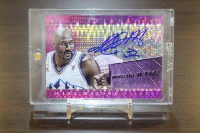 2013-14 Select Purple Prizms Auto 郵差 Karl Malone 限量30張紫亮簽名卡
