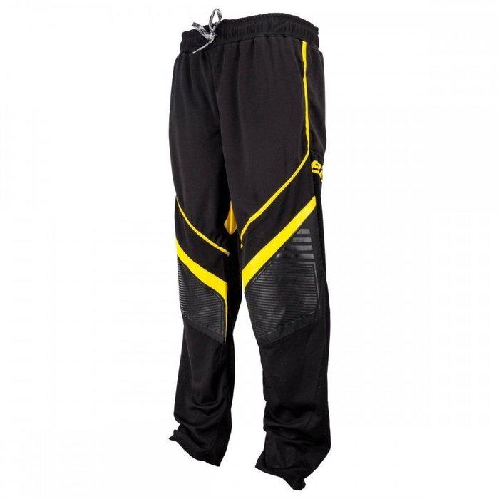 Bauer X700R 中階直排曲棍球長褲 外穿褲 防磨褲 JR-S 黑黃色 JR-M 黑藍色