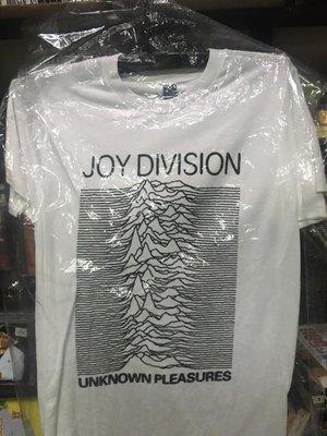 全新進口T恤  JOY DIVISION     S,  白