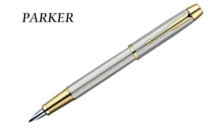 ~Pen筆~PARKER派克  鋼桿金夾 鋼筆 F尖 PAP014592