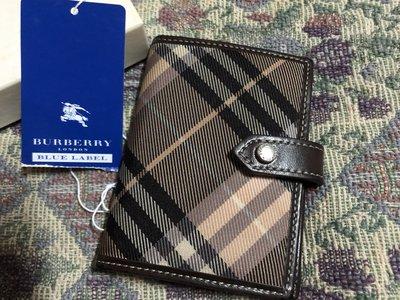Burberry blue label藍標卡夾