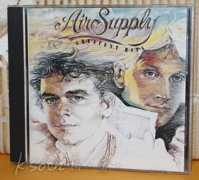 AIR SUPPLY-GREATEST HITS,1983年,日本製造,虛字首版,無IFPI,ARISTA唱片
