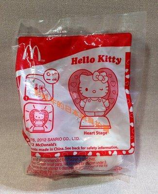 麥當勞 兒童餐 玩具  2012 Hello Kitty 凱蒂貓 愛戀舞台 公仔 玩具