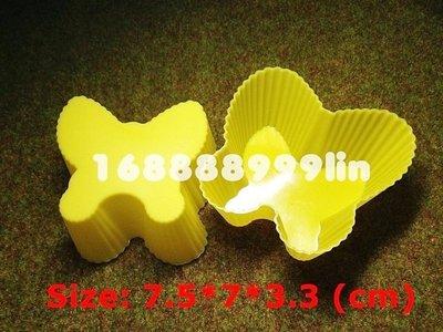 ☆陽光寶貝窩☆ 蝴蝶 矽膠模 食品級 馬芬杯模 蛋糕模 手工肥皂模 果凍模