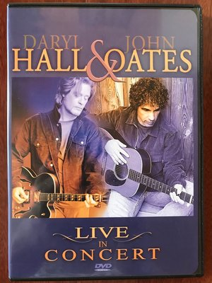美版一區 DVD + CD - Hall & Oates Live in concert