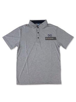 JJF 中華航空 CHINA AIRLINES 60 週年紀念衫 六十週年 男裝/ 上衣/ POLO衫 (灰色)