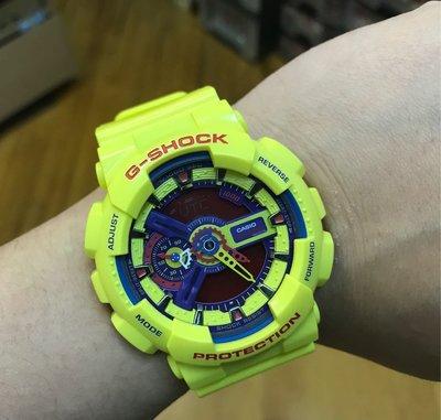 90%NEW G SHOCK GA-110A $650
