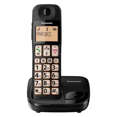【101-3C】 Panasonic國際牌 KX-TGE110 DECT數位無線電話 大按鍵 快速撥號 大字體 長輩適用