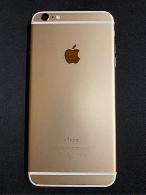 iPhone 6 Plus Gold 99%NEW. Battery cycle 90%