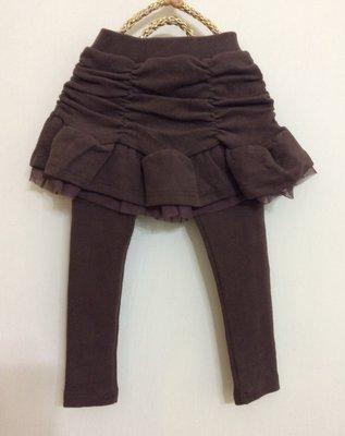 媽媽咪呀~Mamma Mia韓國童裝 過季零碼出清 秋冬咖啡色裙褲