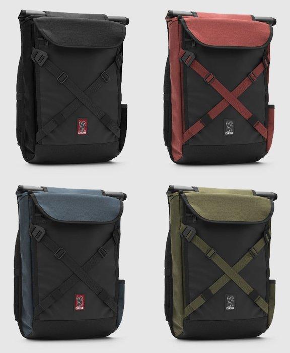 { POISON } CHROME BRAVO 2.0 筆電專屬空間 全防水尺寸擴充型 雙肩後背郵差包 2018最新設計