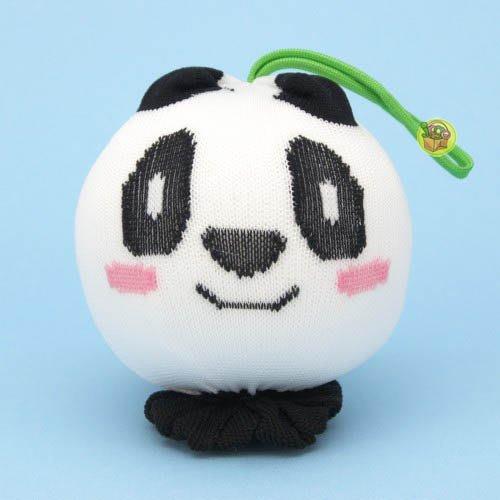 【JPGO日本購】日本製 風呂用洗濯球 動物造型~熊貓 #142