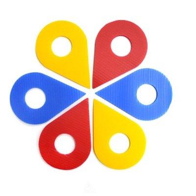 PP-N112- 打卡地標/ 顏色隨機出貨-適合用於卡片、佈置、裝飾時使用 台中市