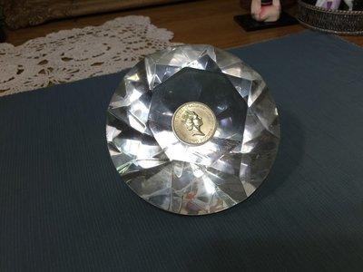 白明月藝術/古物雜貨店 英國紀念幣 1986 BRITISH ROYAL MINT TWO POUND 收藏品 擺飾品