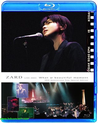 坂井泉水 ZARD What A Beautiful Moment 2004 演唱會 (藍光BD50)@XI31227