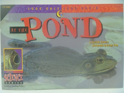 【月界】At the Pond-Look Once,Look Again Science Series〖少年童書〗CER