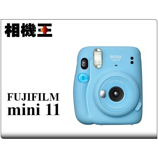 ☆相機王☆Fujifilm Instax Mini 11 晴空藍 拍立得相機 公司貨 (2)