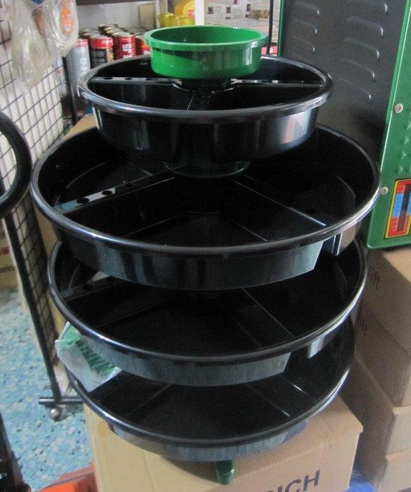 【鎮達】狼頭牌 WH-408L 多用途轉輪式零件整理盤 /收納盤 /螺絲盤