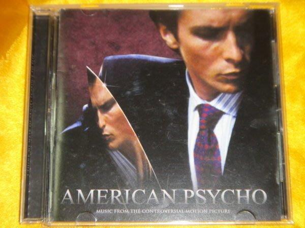 American Psycho 美國殺人魔電影原聲帶 美國版 David Bowie/ The Cure/ New Order/ Tom Tom Club
