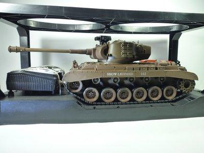 大千遙控模型  1:20 SNOW LEOPARD遙控坦克-聲光戰車 (4)