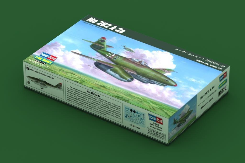 【喵喵模型坊】HOBBYBOSS 1/48 德國 Me.262A-2a 戰鬥機 (80376)