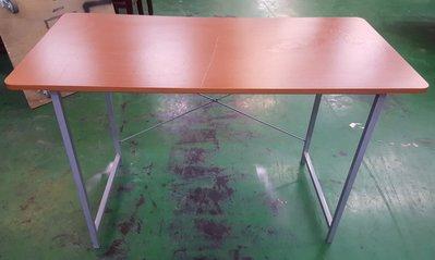 宏品二手家具生活館 台中全新中古傢俱 家電 E13102木紋電腦桌 辦公桌*2手電腦桌 書桌 會議桌 餐桌
