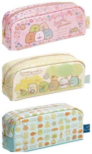 【東京速購】日本代購 San-X 角落生物 角落小夥伴 防水 緞面 鉛筆盒 筆袋 收納包