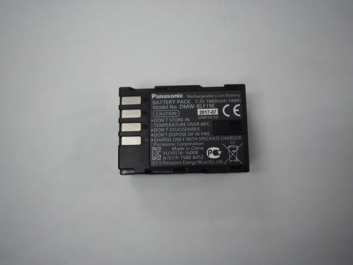 @3C 柑仔店@ 全新 裸裝 Panasonic DMW-BLF19 BLF19 BLF19E 原廠鋰電池 可用 GH5