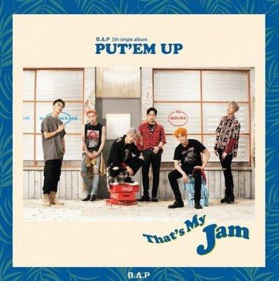 第五張單曲專輯「PUT`EM UP」(韓國進口版)/B.A.P---L200001287