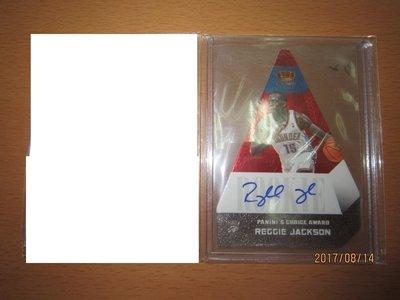 網拍讀賣~Reggie Jackson~三角飯糰~RC~紅版限量簽名卡/99~卡面簽