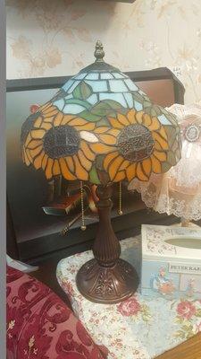 蒂芬妮太陽花桌燈