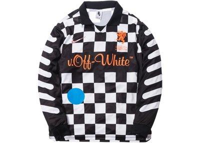 【紐約范特西】預購 Nikelab x OFF-WHITE Mercurial NRG X FB Jersey黑 世足