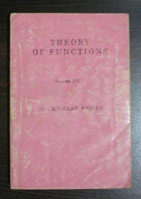 【二手原文書】 Theory of Functions