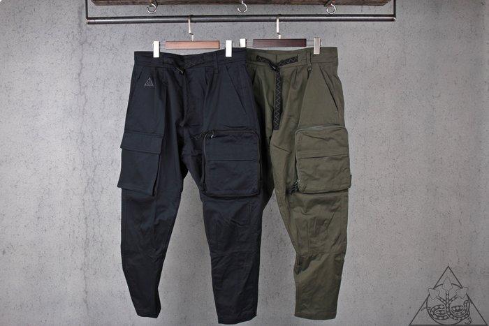 【HYDRA】Nike ACG Woven Cargo Pants 工作 工裝 口袋 長褲【CD7646-010】