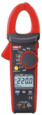 TECPEL 泰菱 》UNI-T 優利德 UT-216C 鉤表 真有效值 電容 NVC 溫度 背光 鉤錶 交直流