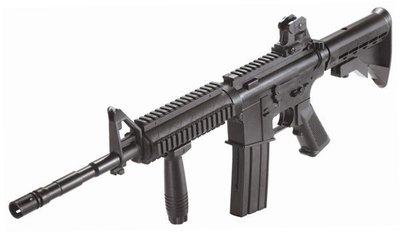 台南 武星級 KWC COLT M4A1 RIS 空氣槍(BB槍BB彈玩具槍步槍長槍電動槍科特瘋狗AK47 65K2獵槍