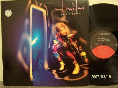【原版流行LP】1398-1.Howard Jones:Action replay專輯(曲目詳照片)