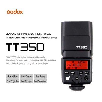 Godox 神牛 TT350 TTL 機頂閃光燈 公司貨 for Fujifilm 富士 TT350F 台中市